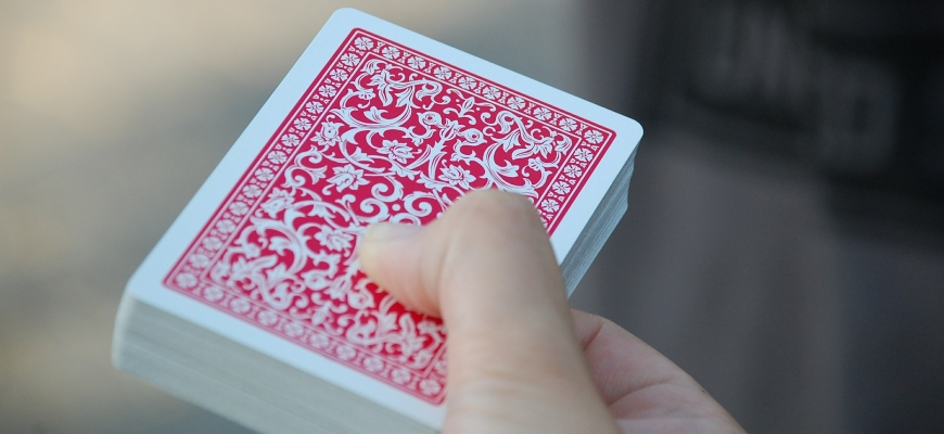 """Тренинг игра """"Подреждане на карти"""""""